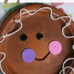 Paper Plate Gingerbread Man Craft copy