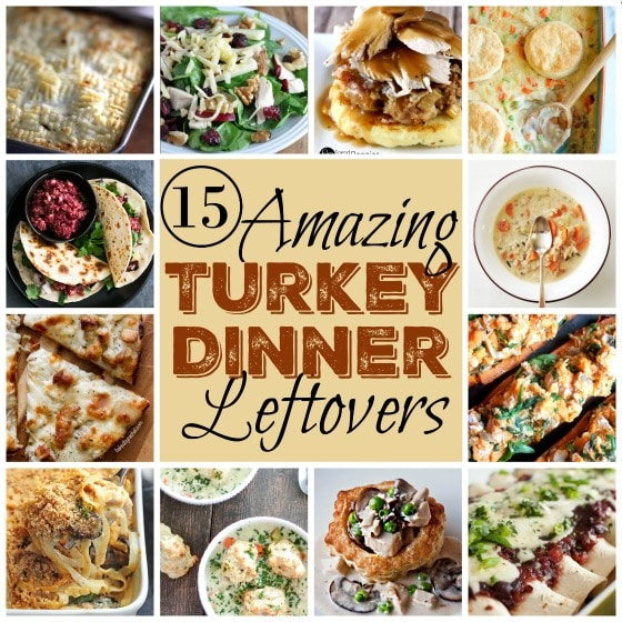 15 Things to make with leftover turkey