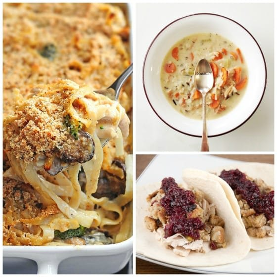 meals to make with turkey leftovers