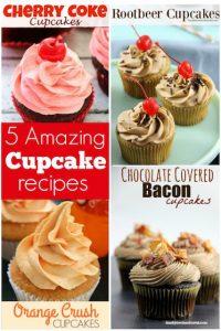 5 amazing cupcake recipes - Happy Hooligans