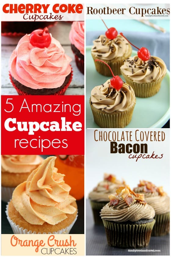 5 Amazing Cupcake Recipes made with Unusual Ingredients