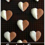 Easiest White Chocolate Dipped Gingerbread Cookies - Happy Hooligans