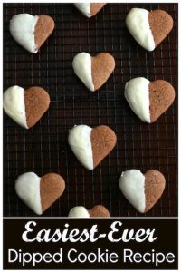 Easiest White Chocolate Dipped Gingerbread Cookies - Happy Hooligans