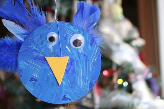 cd blue bird craft