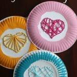 Paper Plate Yarn Weaving copy