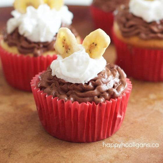 boston  banana cream pie cupcakes