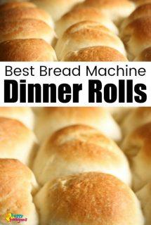 Best Bread Machine Dinner Rolls