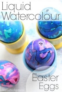 How to Decorate Easter Eggs with Liquid Watercolours - Happy Hooligans