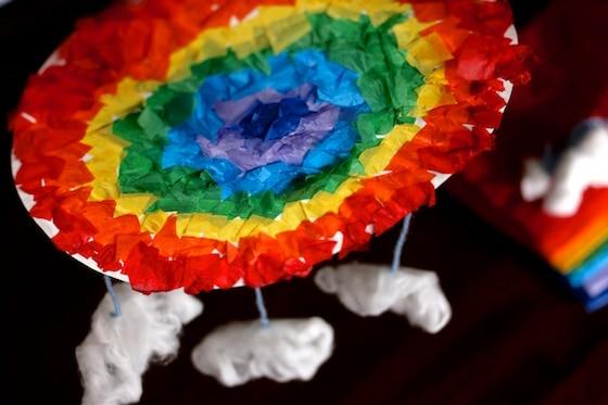rainbow mandala for CBC Parents