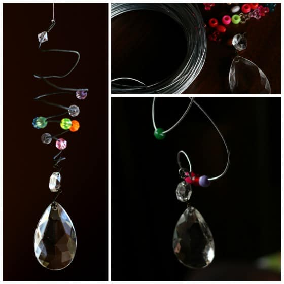 Bead and Bauble Suncatchers