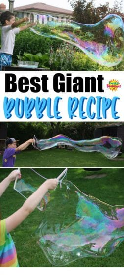Best Homemade Giant Bubbles Recipe