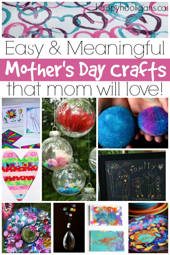 More Easy Mothers Day Crafts For Kids To Make Happy Hooligans