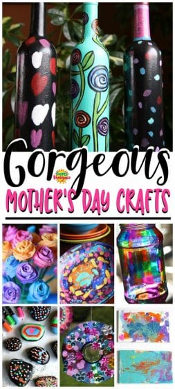 More Easy Mother S Day Crafts For Kids To Make Happy Hooligans