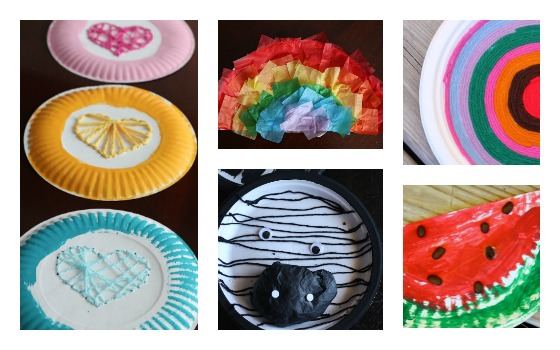 paper plate crafts for letters of the alphabet
