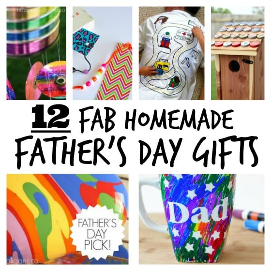 12 Fab Homemade Father's Day Gifts - Happy Hooligans