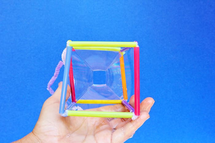 How to make a square bubble