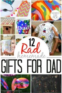 Homemade Father's Day Gifts that Kids can Make