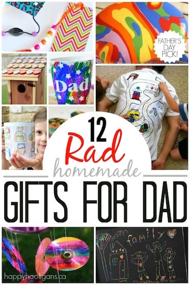 Homemade Father's Day Gifts for Kids to Make - Happy Hooligans