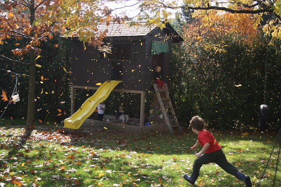 Daycare backyard