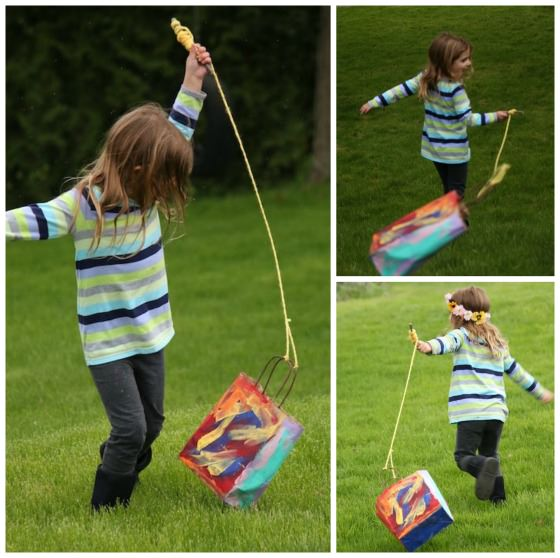 how to make a homemade kite