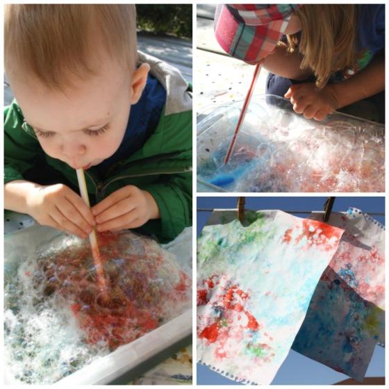 Bubble Art Projects For Preschoolers