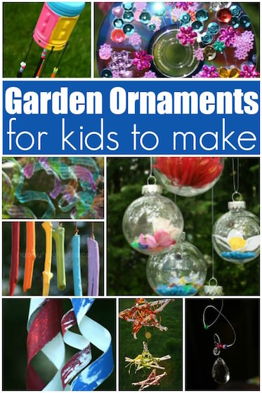 10+ Homemade Garden Ornaments for Kids to Make