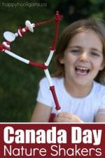 Nature Shakers – An Easy, Musical Canada Day Craft for Kids