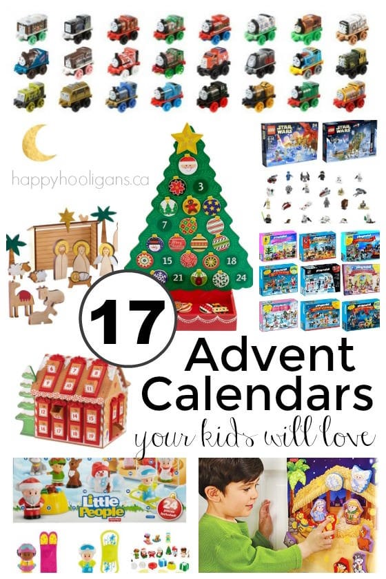 17+ Awesome Advent Calendars your kids will love - Happy Hooligans
