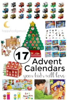 Fun Advent Calendars your kids will love