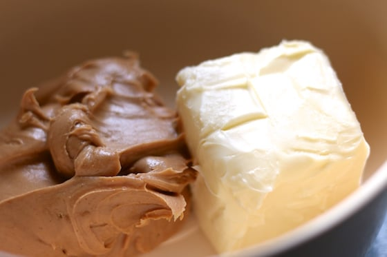 1 cup butter 1 cup peanut butter