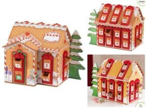 kidskraft wooden -advent-calendar-house