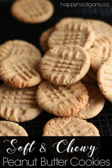 Best Soft and Chewy Peanut Butter Cookie Recipe