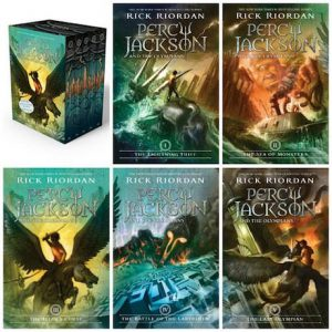 Percy Jackson and the Olympians - great series for kids to read
