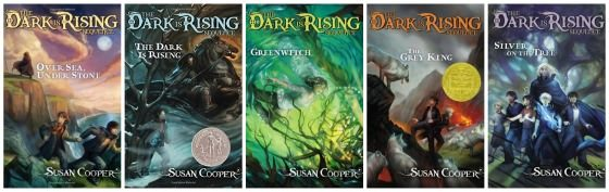 The Dark is Rising series - great series for girls to read
