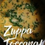 Zuppa Toscana - Olive Garden Copycat Recipe for Kale and Sausage Soup - Happy Hooligans