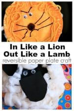 "Adorable {Reversible} ""In Like a Lion, Out Like a Lamb"" Craft for Kids"