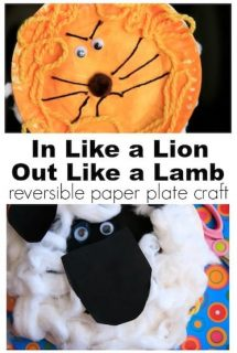 Paper Plate Lion and Lamb Craft for Kids - Happy Hooligans