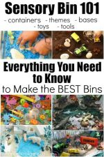 How to Make the Best Sensory Bins: Everything You Need to Know