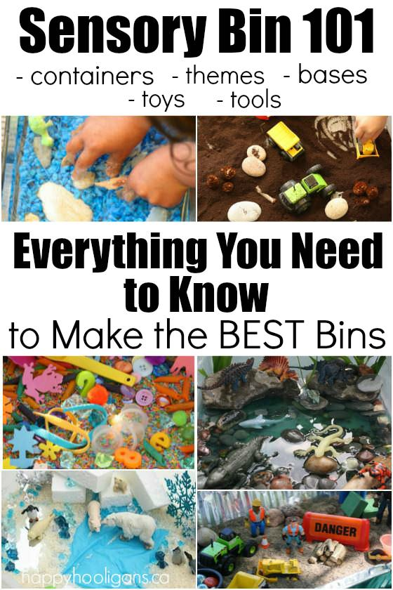 How to make a sensory bin - everything you need to know