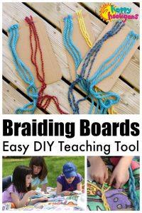 Braiding Boards - DIY Teaching Tool