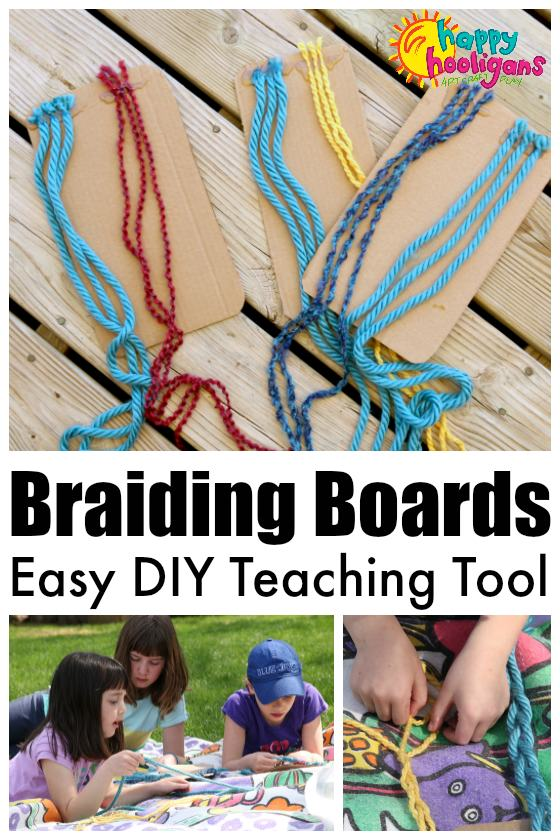 Braiding Boards - DIY Teaching Tool