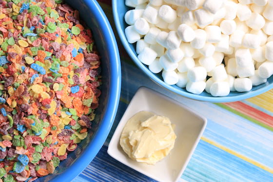Fruity Pebbles mini Marshmallows Butter