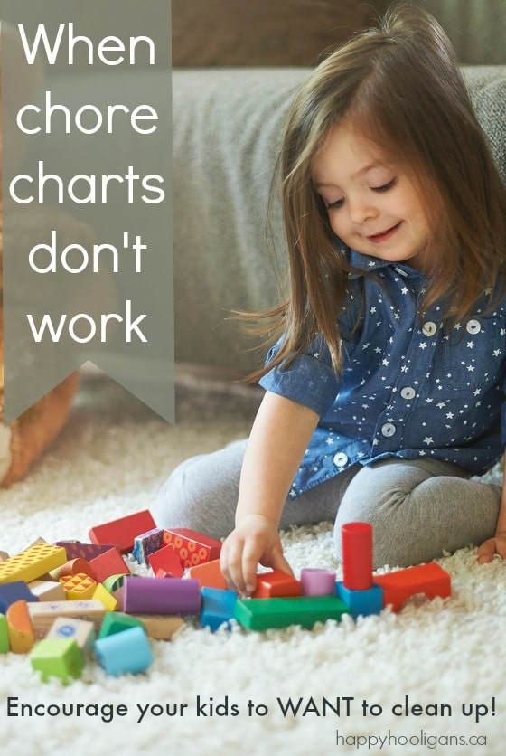 When Chore Charts Don't Work – What To Do Instead