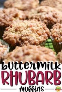 Buttermilk-Rhubarb-Muffins-cinnamon sugar-crumble-topping