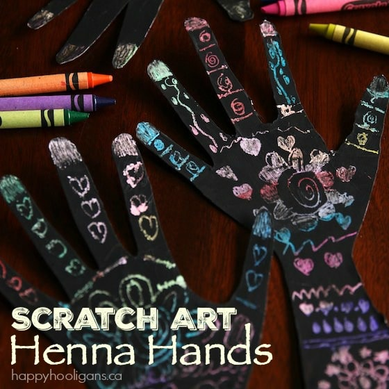 Henna Craft for Kids - Happy Hooligans
