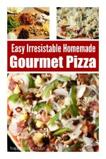 How to Make  Homemade Gourmet Pizza Like a Pro