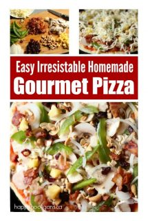 How to Make Insanely Delicious Homemade Gourmet Pizza
