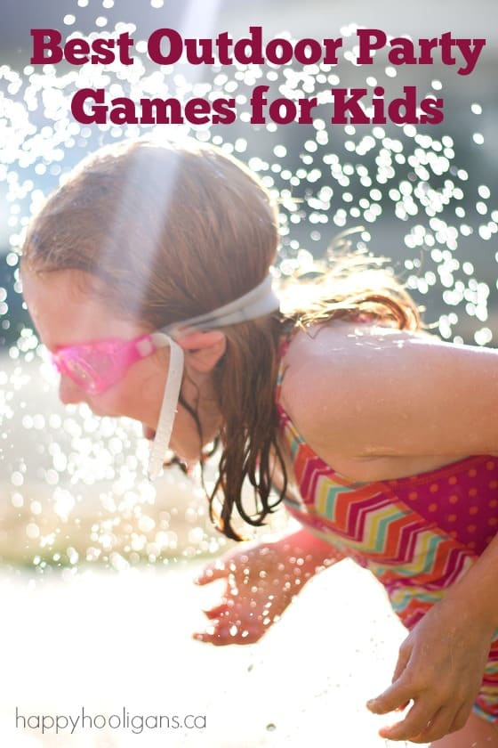 16 Awesome Outdoor Party Games Kids