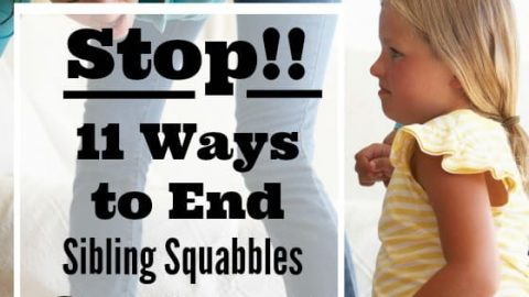 11 Effective Ways to Stop Sibling Fighting