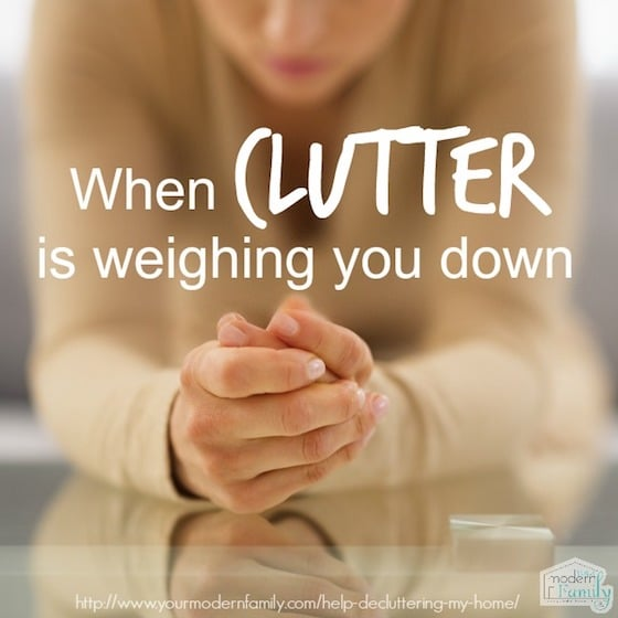 when clutter is weighing you down take the declutter course
